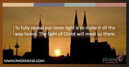 Encontrar nossa luz é fazer todo o caminho para casa.