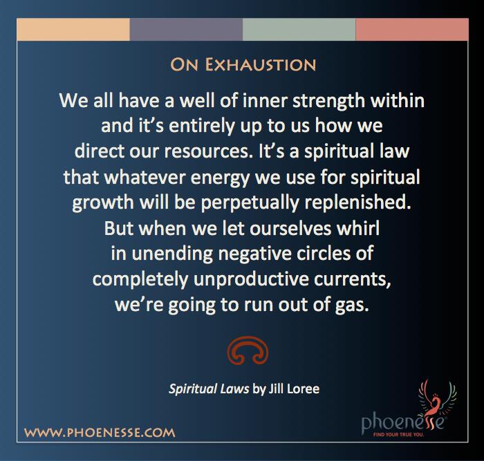 1 Spiritual Laws_Exhaustion